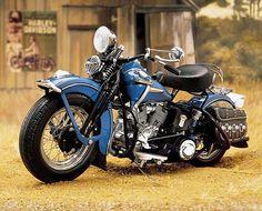 1948 Harley Davidson Panhead Bobber