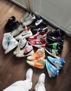 nike off white Sneakers Mode, Best Sneakers, Sneakers Fashion, Shoes Sneakers, Hypebeast Sneakers, Shoes Jordans, White Sneakers, Zapatillas Nike Jordan, Sneakers Wallpaper