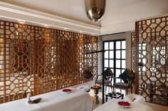 Spa Treatment room at Amanbagh, Rajasthan India