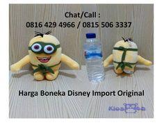 Jual Boneka Surabaya, Jual Mainan Surabaya  Kiosqta ( http://kiosqta.com )  menjual boneka, mainan anak, action figure, pajangan, celengan, tas, pernak pernik dan aksesoris. Chat/Call : 0816 429 4966 / 0815 506 3337   Produk yang kami jual terdiri dari yang original, berlisensi resmi maupun yang OEM, dengan kualitas istimewa. Semua produk ber SNI sehingga selaras dengan peraturan yang berlaku di Indonesia.  Kenapa Anda Mesti Beli Kepada Kami: 1. Semua mainan kami ber SNI dan aman untuk…