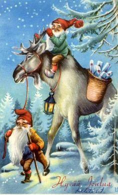 Gnomes and Moose ~ Lars Carlsson