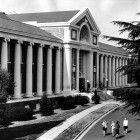 Fresno High School.Fresno, Ca.  So stately! No finer designed high school anywhere.