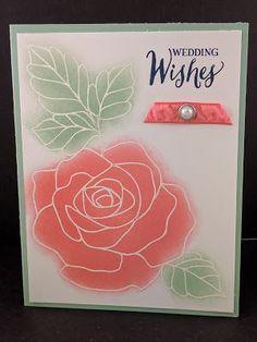 A Rose Wonder-ful Wedding Card