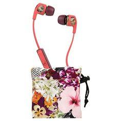 Skullcandy Dime Women's In-Ear Headphones with Microphone - Robin/Purple
