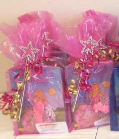 PRINCESS THEME PARTY/LOOT BAGS PRE-FILLED GIRLS PINK 3+ CHILD BIRTHDAY PARTY | eBay