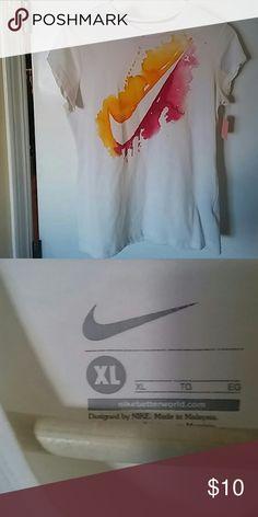T-shirt Athletic wear Nike Tops Tees - Short Sleeve