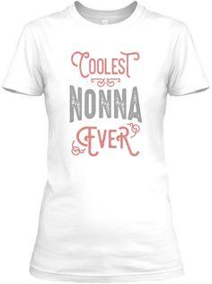 Inktastic Best Nonna Ever Women/'s T-Shirt Worlds Gift Grandma Cute Idea Family