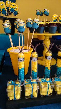 Minions hosted the birthday for kids - Minions Birthday Theme, Minion Party Theme, Sons Birthday, Birthday Parties, Happy Birthday, Courge Halloween, Minion Baby Shower, Pink Minion, Market Day Ideas