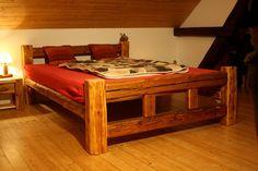 Image result for postel z trámů