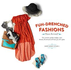 ModCloth a Super cute site with really amazing vintage styled clothing. Pin and look through later.