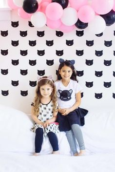Poppytalk: A Kittens + Cotton Candy Birthday Party! More