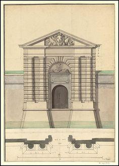 Projet pour la porte de Colmar, 1699 | Flickr - Photo Sharing!