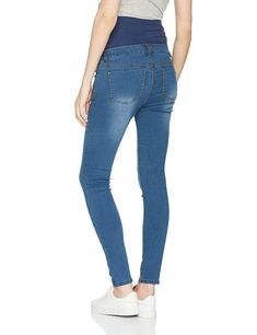 65cd5ea6ad Dorothy Perkins Maternity Forever Fit Over Bump Skinny Jeans UK 10 LF087 CC  25  fashion