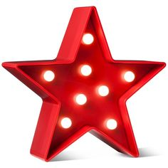 4th of July Red Battery-Operated Lit Décor Star - POPTIMISM!™ : Target ($6.99) ❤ liked on Polyvore featuring home, home decor, holiday decorations, red home decor, red home accessories, lighted home decor and star home decor
