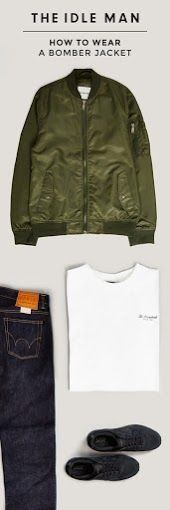 How to style a green bomber jacket | The Idle Man