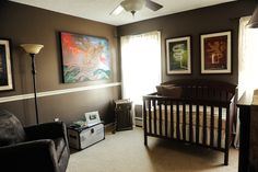 Ezra's Harry Potter nursery!  (If I ever have another little boy...)