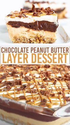 Peanut Butter Desserts, Peanut Butter Cheesecake, Cheesecake Bars, Chocolate Peanut Butter, Chocolate Desserts, Cupcake Recipes, Cookie Recipes, Dessert Recipes, No Bake Summer Desserts