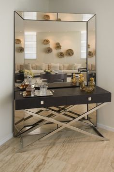 I'm kind of digging this as a dressing table too!