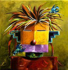 Head Scouts | Sheri Burns Art