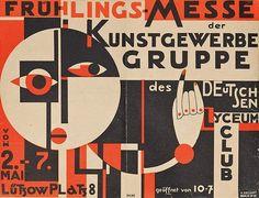 Frühlings-Messe Der Kunstgewerbe Gruppe [Hannah Höch, 1925]