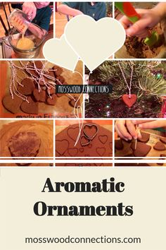 Aromatic Ornaments Project; a Sensory craft and Kid-made Gift #mosswoodconnections #DIY #kidmadegift #holidays #ornaments #sensory Kids Make Christmas Ornaments, Homemade Christmas Tree, Christmas Activities For Kids, Handmade Christmas, Diy Projects For Kids, Diy For Kids, Crafts For Kids, Crafty Kids, Sensory Processing
