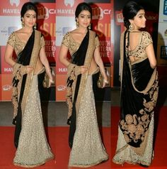 Bollywood actresses in Sabyasachi sarees has in fact, become a very trendy thing. Sabyasachi designer is a name that echoes in every women's mind. Sabyasachi Sarees, Red Lehenga, Indian Bridal Lehenga, Bollywood Saree, Lehenga Choli, Bollywood Fashion, Indian Sarees, Anarkali, Indian Dresses