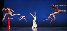 """Katherine Crockett, center, and other members of the Martha Graham Dance Company performing """"Diversion of Angels"""" on Wednesday at the Joyce. By ALASTAIR MACAULAY Published: September 2007 Couple Photography Poses, Dance Photography, Amazing Photography, Life Touch, Martha Graham, Female Dancers, Modern Dance, Contemporary Dance, Alvin Ailey"""