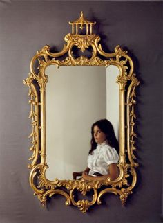 Pagoda Chippendale Mirror | Carvers' Guild