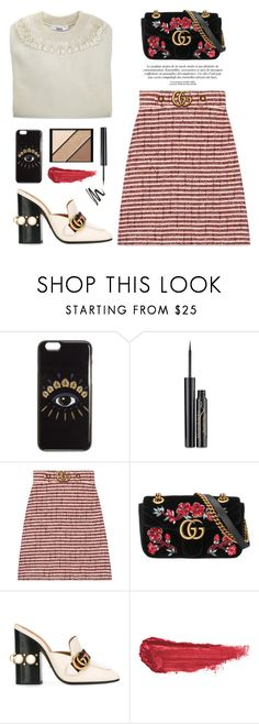"""OOTD"" by yexyka ❤ liked on Polyvore featuring Kenzo, Elizabeth Arden, Gucci, By Terry and gucci"
