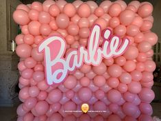 Balloon Walls & Balloon Tunnels - The Balloon People Barbie Party Decorations, Barbie Theme Party, Barbie Birthday Party, Balloon Decorations, Pink Birthday Decorations, Party Wall Decorations, 2 Birthday, 6th Birthday Parties, Birthday Balloons