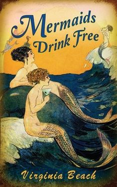 Mermaids Drink Free Metal Sign 12 x 18 Inches Mermaid Drink, Mermaid Sign, Mermaid Poster, Office Wall Decor, Wall Art Decor, Wall Decorations, Vintage Metal Signs, Vintage Art, Mermaid Artwork