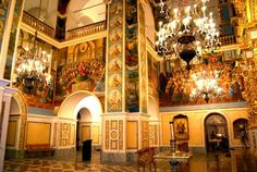 Интерьер Успенского собора Киево-Печерской Лавры /Interior of the Assumption Cathedral Kyiv-Pechersk Lavra