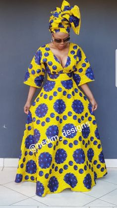Look at this Fashionable traditional african fashion African Dresses For Kids, African Maxi Dresses, Latest African Fashion Dresses, African Print Fashion, African Attire, Africa Fashion, African Fashion Traditional, African Print Dress Designs, Shweshwe Dresses