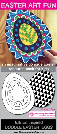 This pages fun Easter themed art and craft resource pack has been designed to encourage students to explore shape, colour, design and pattern in an abs. Creative Activities, Art Activities, Easter Arts And Crafts, 2nd Grade Art, Second Grade, Easter Coloring Pages, Art Lessons Elementary, Arts And Crafts Movement, Preschool Crafts