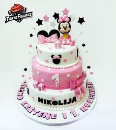 Cukerlandia torte i slatkiši : Mini Maus beba torta (Minnie Mouse baby cake)