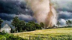 Un potente tornado arrasa Polonia – RT