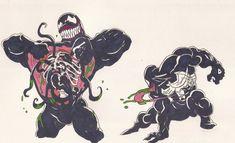 Venom_Spider-man_doodles 05 Dec2012 by AlexBaxtheDarkSide