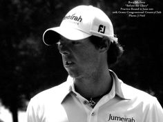 Photo of Rory McIlroy during practice round before this year's US Open.