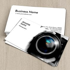 57 best photo business card images on pinterest photographer simply black and white photographer camera lens business cards read about how to space out your reheart Choice Image