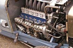 1924 Delage 2LCV Grand Prix engine | Flickr - Photo Sharing!