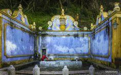 Water source - Sintra, Portugal, Europe Sintra Portugal, Water Sources, Europe, Places, Tiles, Painting, Travel, Room Tiles, Fuentes De Agua