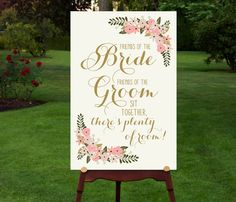 Ceremony Seating Sign // Choose a seat not by RememberNovemberShop, $12.00