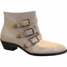 Chloé Beige Susanna Boots £618.49.