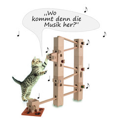 Xyloba marble run online shop, The marble run that makes music How To Make, Shopping, Music Instruments, Studying, Cats