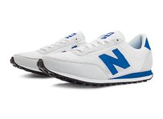 New Balance 410, White with Blue