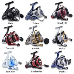 Kastking Spinning Reels All Models Freshwater Saltwater Bass Pike Fishing Reel Pike Fishing, Fishing Knots, Best Fishing, Trout Fishing, Fishing Reels, Kayak Fishing, Alaska Salmon Fishing, Spinning Reels, Fishing Tackle