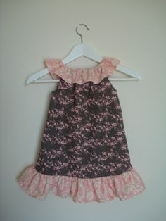 Items similar to Pink and gray floral ruffles dress for girls and toddlers on Etsy Ruffle Dress, Ruffles, Pink Grey, Gray, Girls Dresses, Summer Dresses, Toddlers, Floral, Clothing