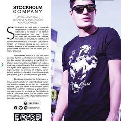 @141magazine edición febrero.  Esto es STOCKHOLM Co.  Www.stkm.co  #apparel #style #streetstyle #fashionblogger #fashion #clothes #tshirt #awesome #instacool #fashionblogger