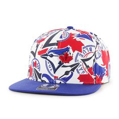 a7b1210443542c Toronto Blue Jays Bravado Captain White 47 Brand Adjustable Hat. Detroit  GameToronto ...