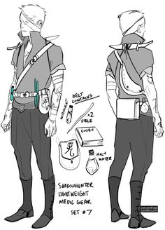 Shadowhunter Lightweight Medic Gear Sey #7 by Cassandra Jean (SHADOWHUNTERS)